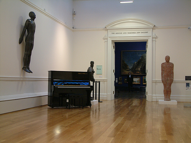 Besbrode piano hire at Leeds art gallery
